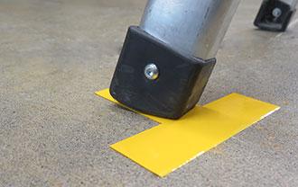 Cintas SafetyTac® Shape lisas en suelos