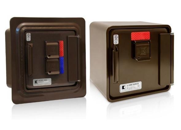 Model #4413- Surface Mount, Single Lock, Dark Bronze  Model #4445- Recessed Mount, Dual Lock, Dark Bronze