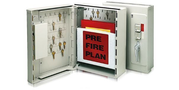Knox Emergency Boxes provide onsite, high security storage for pre-fire plans, key storage, elevator drop keys, Haz-Mat data and other emergency items. Choose a size that fits your needs.