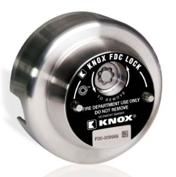 3111- Knox FDC Lock with Swivel-Guard, 2.5-inch, 3.068  X 7.5 TPI