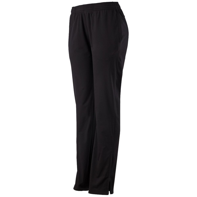 LADIES SOLID BRUSHED TRICOT PANT