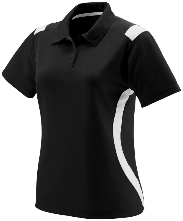Ladies All-conference Black Polo