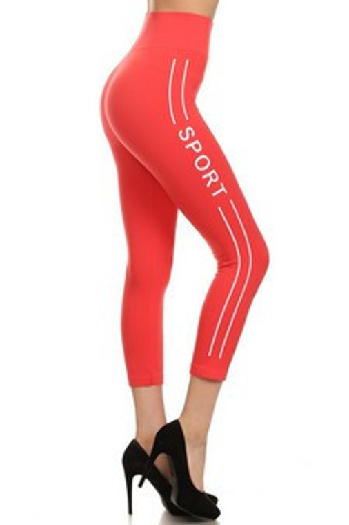 CORAL SPORTS LEGGINGS
