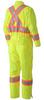 Hi-Viz Yellow/Green - 5999A Hi-Viz Traffic Coverall, Back