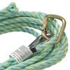 VL-1115-25 Vertical Lifeline - Carabiner & Back Splice - 25' (7.6 M)  | Safetywear.ca