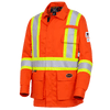 Hi-Viz Orange - 7773 FR-TECH® Flame Resistant Safety Jacket | Safetywear.ca