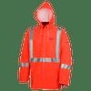 576J PVC/PolyPVC FR Rain Jacket - Hi-Viz Orange | Safetywear.ca