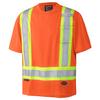 Orange - 6990 Birdseye Safety T-Shirt | Safetywear.ca