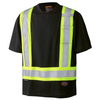 Black - 6992 Birdseye Safety T-Shirt | Safetywear.ca