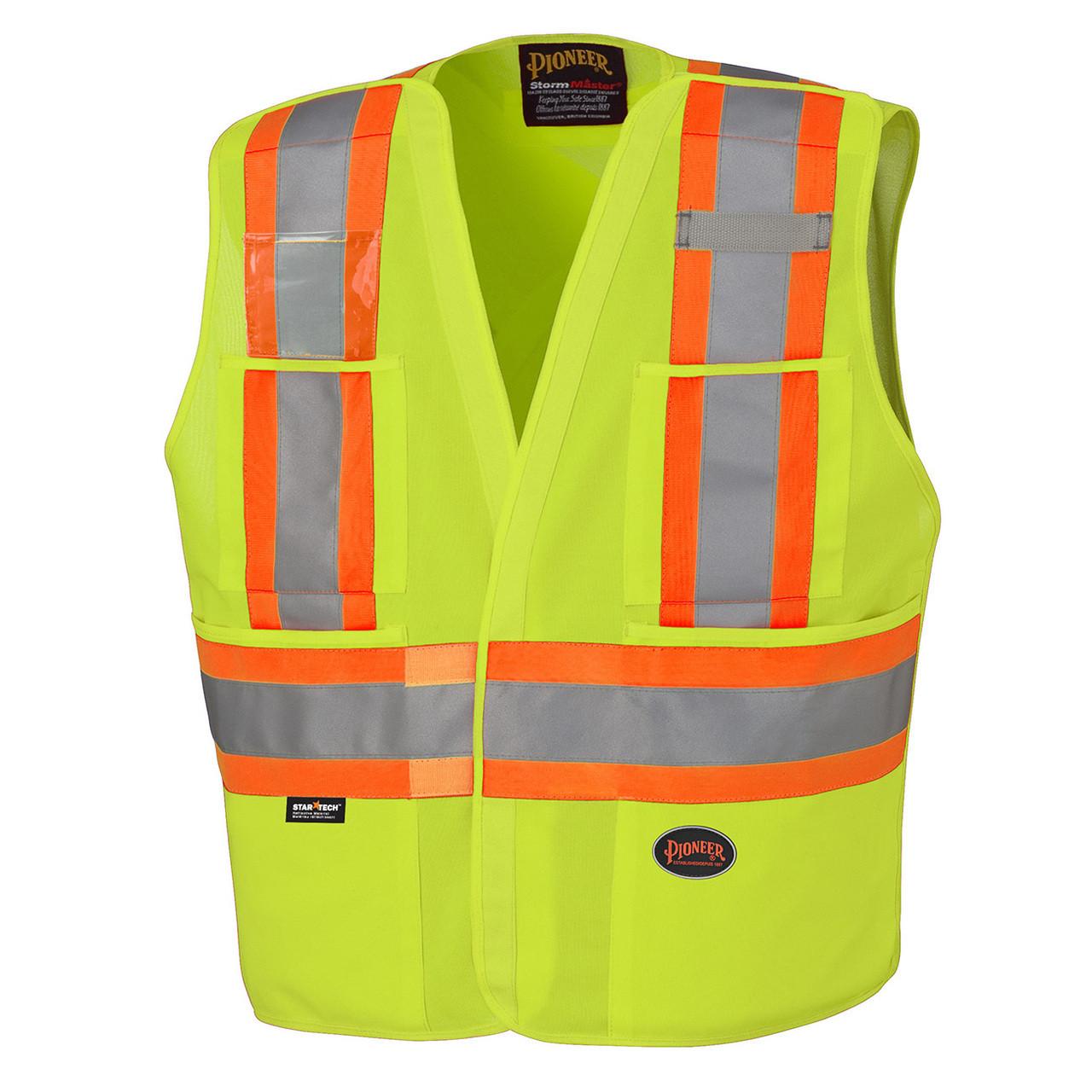 8a809b7e0d15 6931 Hi-Viz Safety Tear-Away Vest