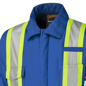Pioneer 5522A Flame Resistant/ARC Rated with Insulation Coverall - Royal | Safetywear.ca