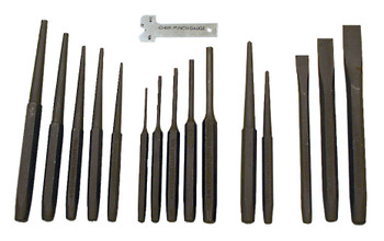 IPC-16 16 PC Punch and Chisel Set