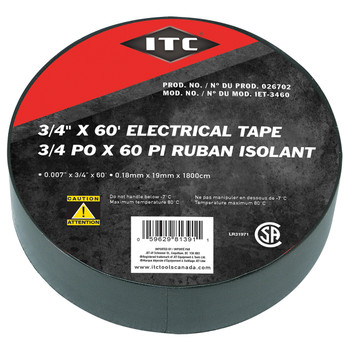 """IET-3460 3/4"""" x 60' Electrical Tape"""