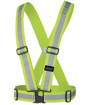 Safety Yellow - 5592 Hi-Viz Safety Sash | Safetywear.ca
