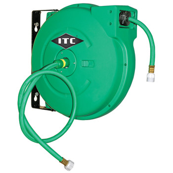 "IAW1265 1/2"" x 65' Retractable Water Hose Reel - Polypropylene"