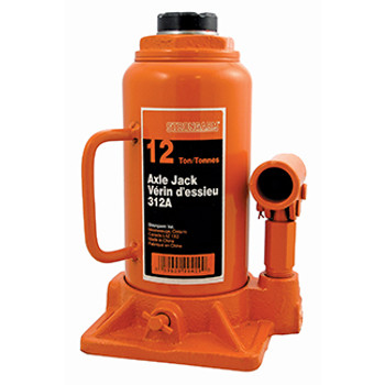 312A 12 Ton Bottle Jack - Heavy Duty