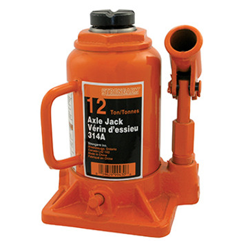 314A 12 Ton Bottle Jack - Heavy Duty