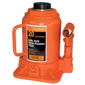 322A 20 Ton Bottle Jack - Heavy Duty