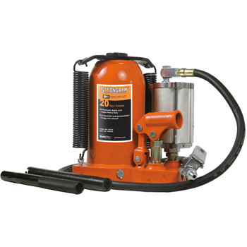 390SHD 20 Ton Air/Hydraulic Bottle Jack - Super Heavy Duty
