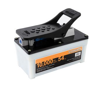 402A 10,000 PSI 54 oz Air/Hydraulic Foot Pump - Heavy Duty