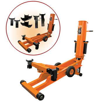 527 5-1/2 Ton Long Reach Air Lift Jack - Heavy Duty