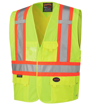Safety Yellow - 131 Hi-Viz Safety Vest | Safetywear.ca