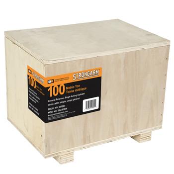 SACS1006 100 Metric Ton Single Acting Cylinder - Super Heavy Duty