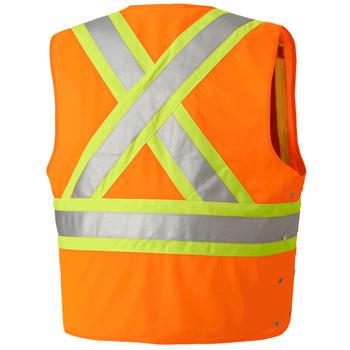 Pioneer 134 Safety Vest - HI-Viz Orange | Safetywear.ca
