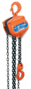 L95-1506 1-1/2 Ton 20' Lift Chain Hoist - Super Heavy Duty (Overload Protection)