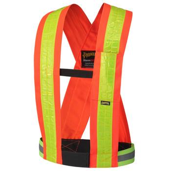 Hi-Viz Orange -  5593 Hi-Viz Safety Sash | Safetywear.ca