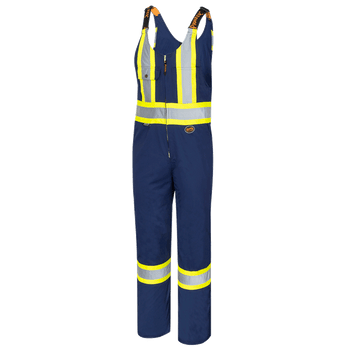 Pioneer 6615 Safety Poly/Cotton Overalls - Navy | Safetywear.ca