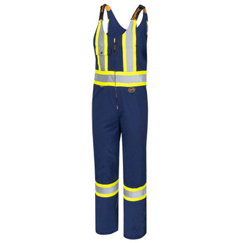 Pioneer 6615T Safety Poly/Cotton Overall - Navy (Tall) | Safetywear.ca