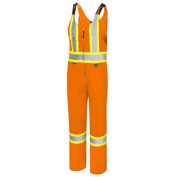Pioneer 6617 Safety Poly/Cotton Overalls - Hi-Viz Orange | Safetywear.ca