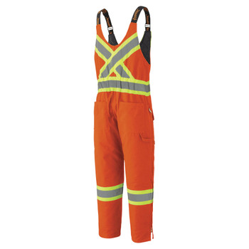 Pioneer 5538 Insulated Cotton Duck Overall - Hi-Viz Orange   Safetywear.ca