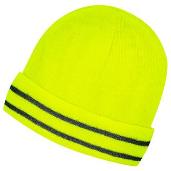 Hi-Viz Yellow/Green - 5664 Lined Safety Toque | SafetyWear.ca
