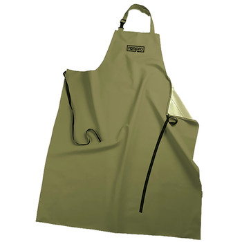 Green - A34 48 FL Snapper® Apron | Safetywear.ca