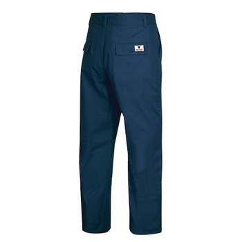 Light Navy, Back - 7761 Light Navy FR-Tech® Flame Resistant 7 oz Safety Pant | SafetyWear.ca