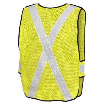 592B Pioneer Hi-Viz All-Purpose Safety Tear-Away Vest - Poly Mesh | Safetywear.ca