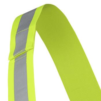 "HV Yellow/Green - 5592A Pioneer Hi-Viz 2"" Adjustable Safety Sash - 4 Point Tear-Away - 5-Pack | Safetywear.ca"