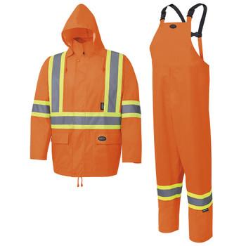 Pioneer 5618 Rainsuit - HI-Viz Orange | Safetywear.ca