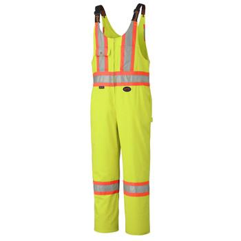 Pioneer 6616 Poly/Cotton Safety Overalls - Hi-Viz Yellow/Green | Safetywear.ca