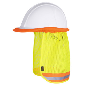 Yellow - 293 Pioneer Hard Hat Mesh Sun Shade | Safetywear.ca