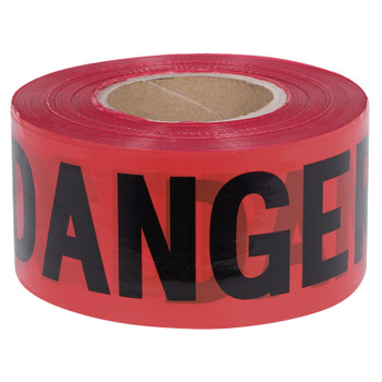 Red - 389P Pioneer Barricade Tape | Safetywear.ca