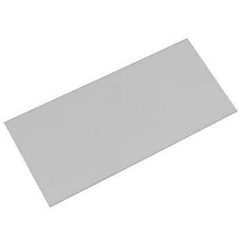 """S19002 Sellstrom Clear Cover/Impact Plate - 2""""H x 4-1/4""""W"""