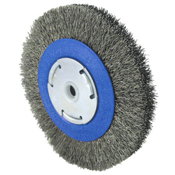 550221 Jet Crimped Wire Wheel Brushes - High Performance - Stainless Steel | Safetywear.ca