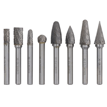 534212 8 PC Jet-Kut Carbide Bur Set - Premium | Safetywear.ca