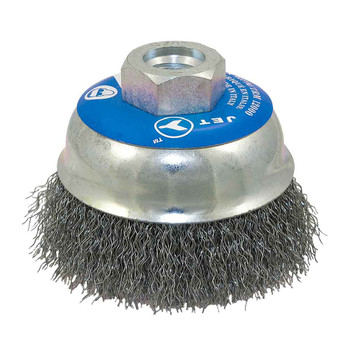 "553520 3-1/4"" Crimped Cup Brush 