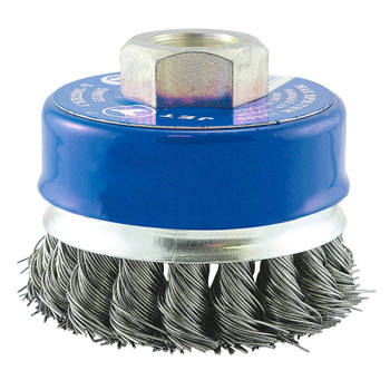 "553665 2-3/4"" Knot Branded Cup Brush 