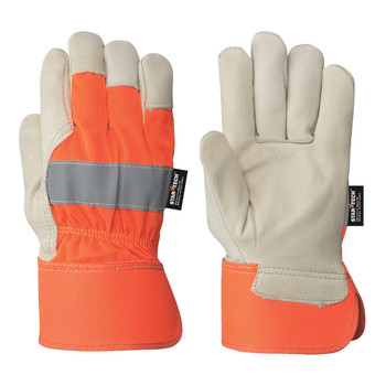 Orange Fitter's Cowgrain Glove