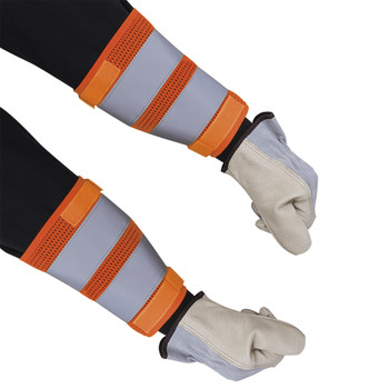 "HI-VIZ 8"" Traffic Cuffs - Orange 